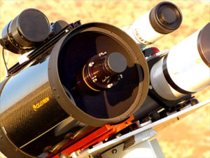 """Nachgerüstetes 11"""" Schmidt-Cassegrain mit Hyperstar System-  W. Paech"""
