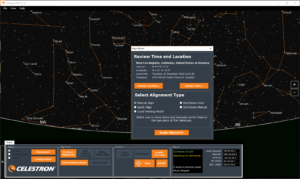 Celestron PWI Software - First Connected