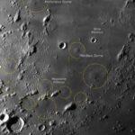 Mondfotografie bei Tag mit C14, Skyris 455M und Baader IR-Passfilter