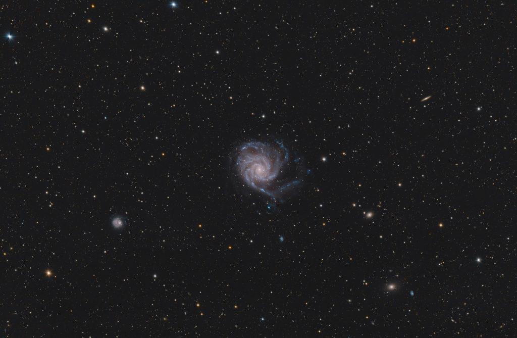 M101 aufgenommen mit RASA 36 f2.2 - Christoph Kaltseis