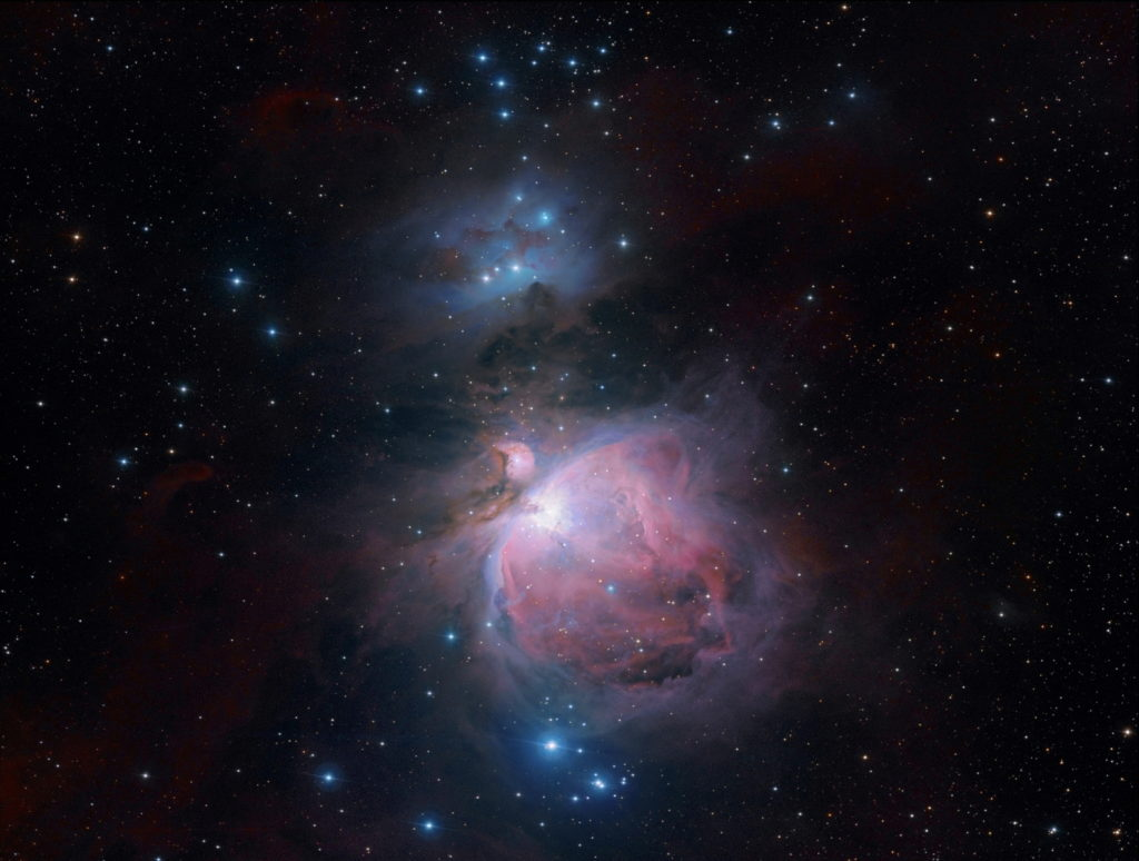 """M42 Orion-Nebel aufgenommen mit Celestron RASA 8"""" - Michael Jäger"""