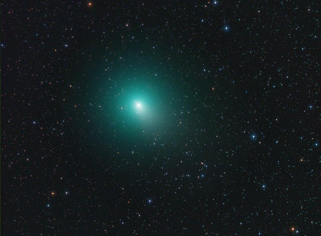 Neue Kometenfotos mit RASA 8