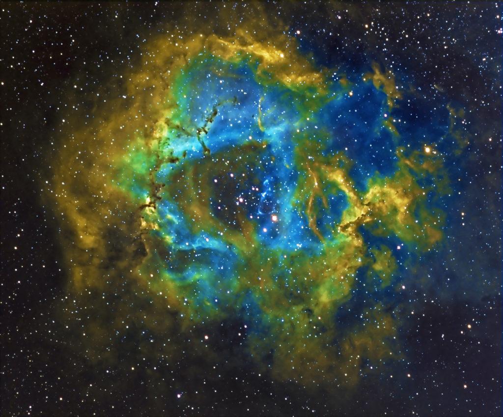 NGC 2237 aufgenommen mit Celestron EDGE HD 800 / Hyperstar - Biagio Speranza