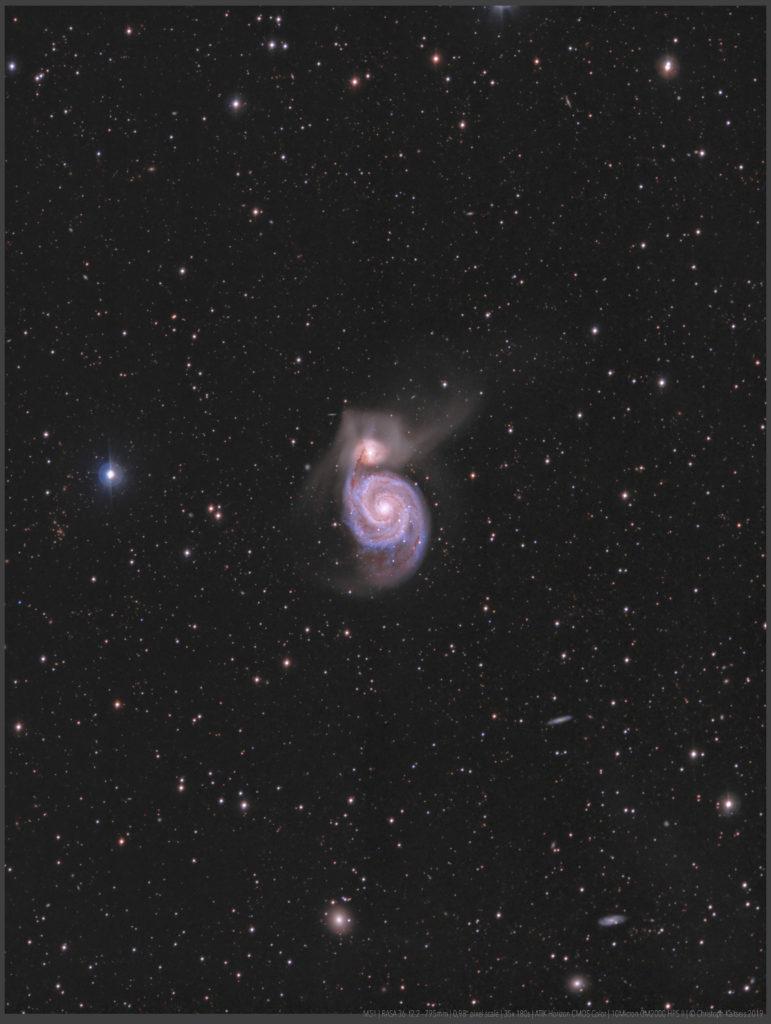 M51 aufgenommen mit RASA 36 - Christoph Kaltseis