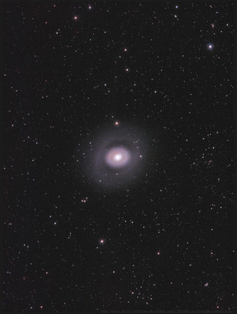 M94 aufgenommen mit Celestron RASA 36 f2.2 - Christoph Kaltseis
