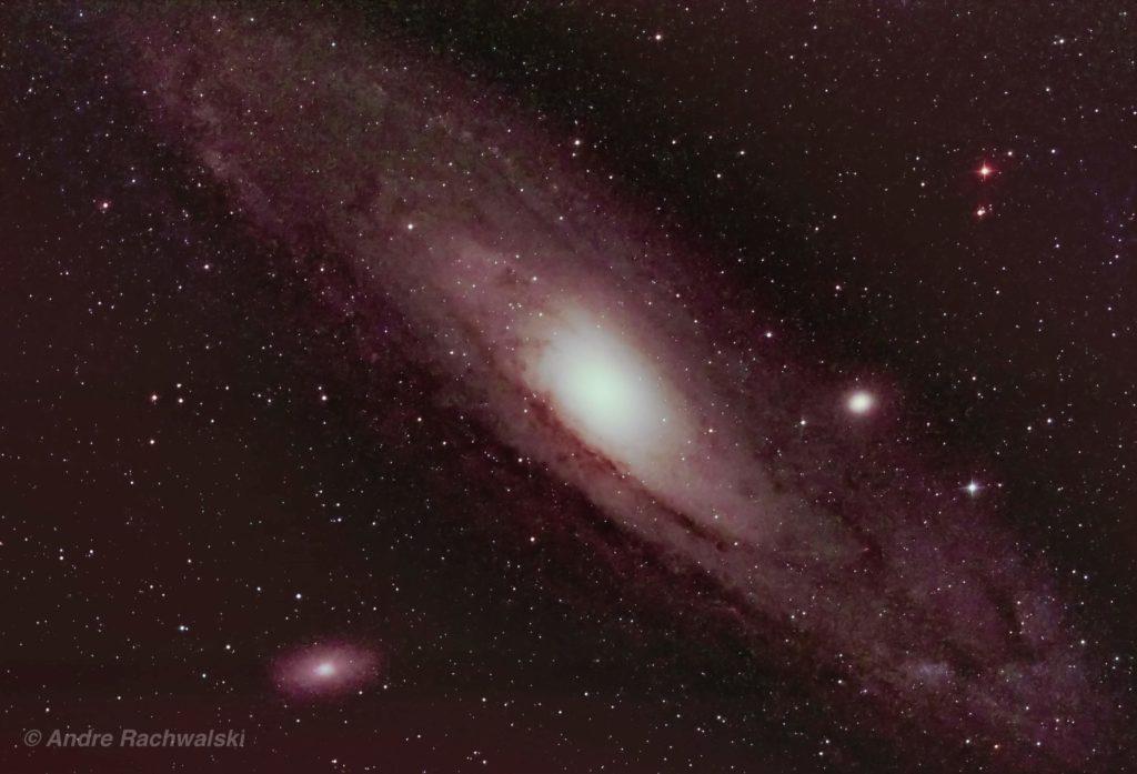 Andromeda Galaxie aufgenommen mit Celestron Rasa11 - Andre Rachwalski