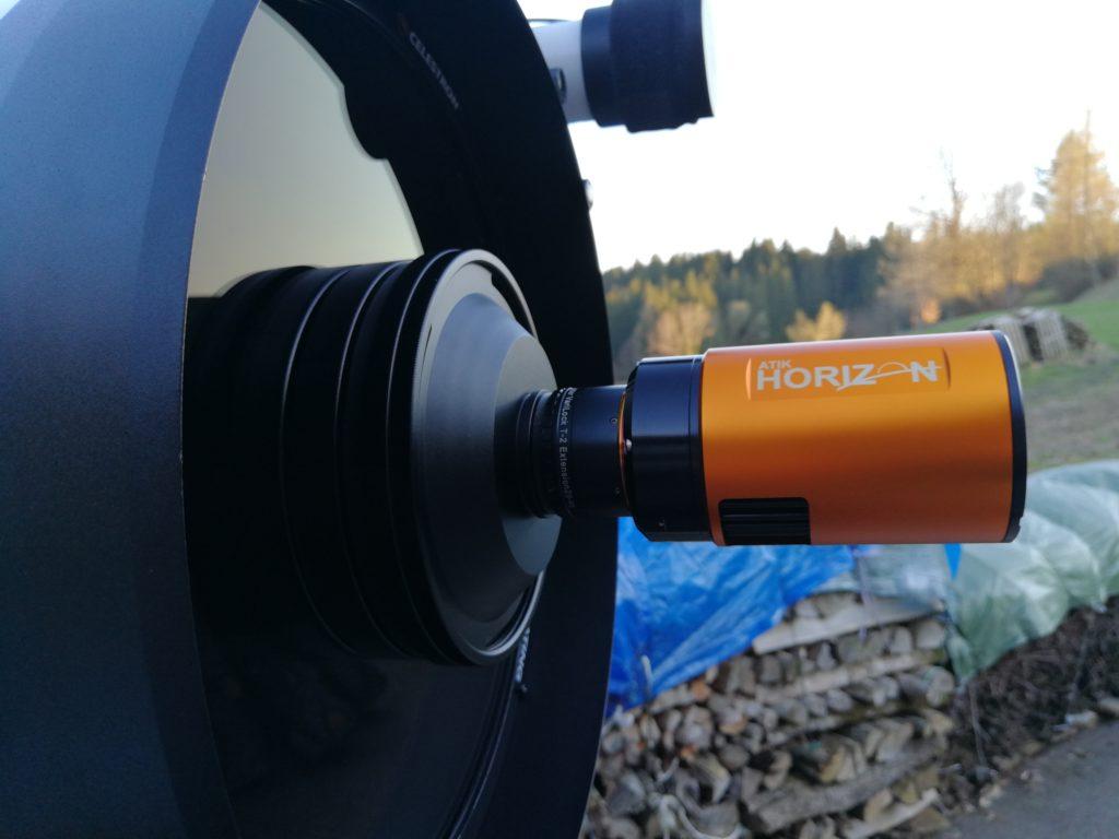 Der erste Eindruck: RASA 8 mit ATIK Horizon Farbkamera