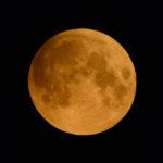 Impressionen zur partiellen Mondfinsternis vom 16. Juli 2019