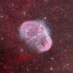NGC 6888 aufgenommen mit RASA 36 - Mike Behnke
