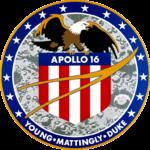 Missionslogo von Apollo 16, @NASA