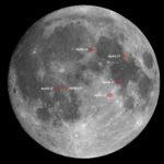 Die Apollo Landeplätze