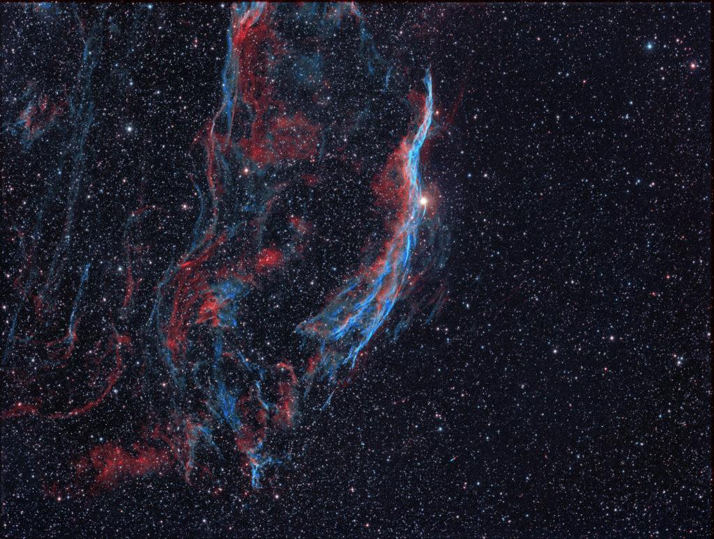 """Teil des Cirrus Nebels aufgenommen mit Celestron RASA 8"""" - Michael Jäger"""