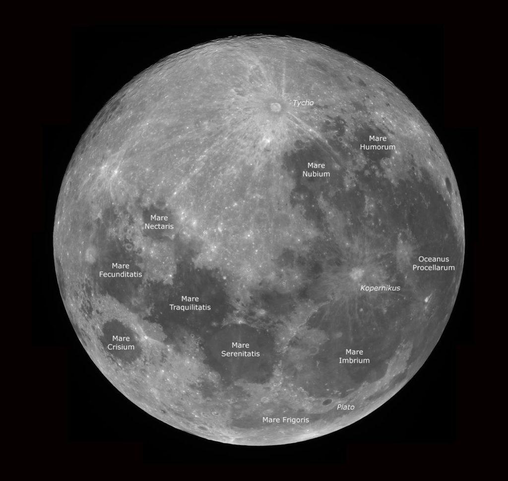 Mondstrukturen - Fotografisch und Visuell