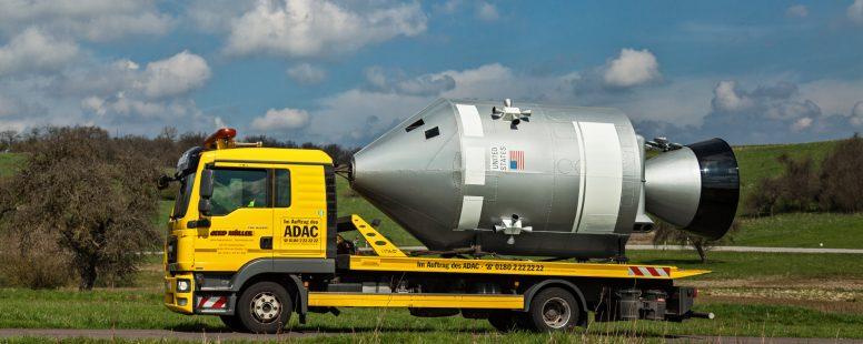 Apollo Kapsel auf der AME 2019