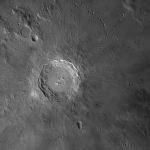 Mond: Copernicus aufgenommen mit Celestron C14 Edge HD - Daniel Koehn