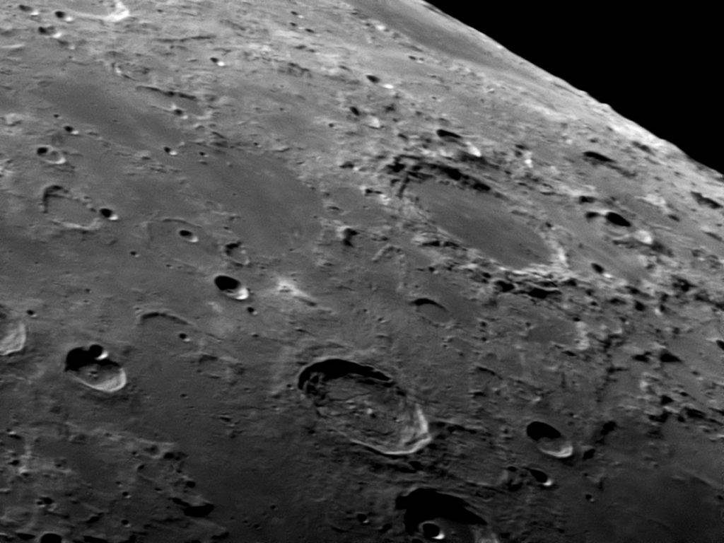 Mond Endymion-Atlas aufgenommen mit Celestron C14 XLT - Kai von Schauroth