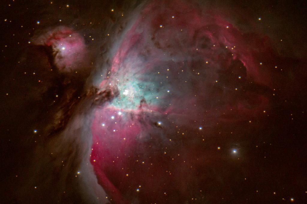 Orionnebel M42 aufgenommen mit Celestron 9,25 - Franz Fuchs