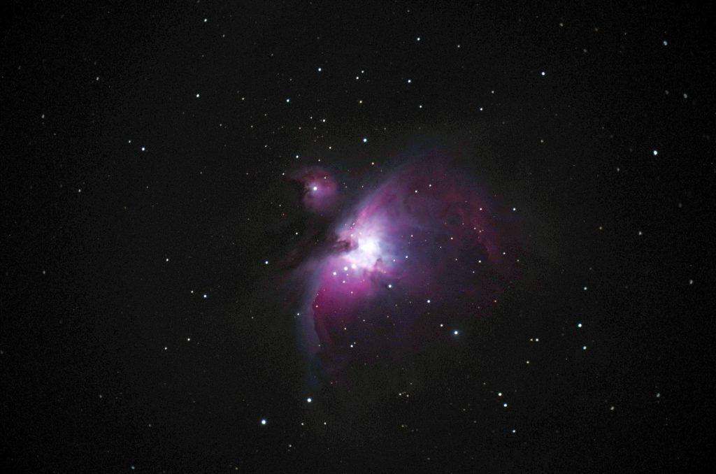 Orion Nebel M 42 aufgenommen mit Celestron C 8 - Axel Samek