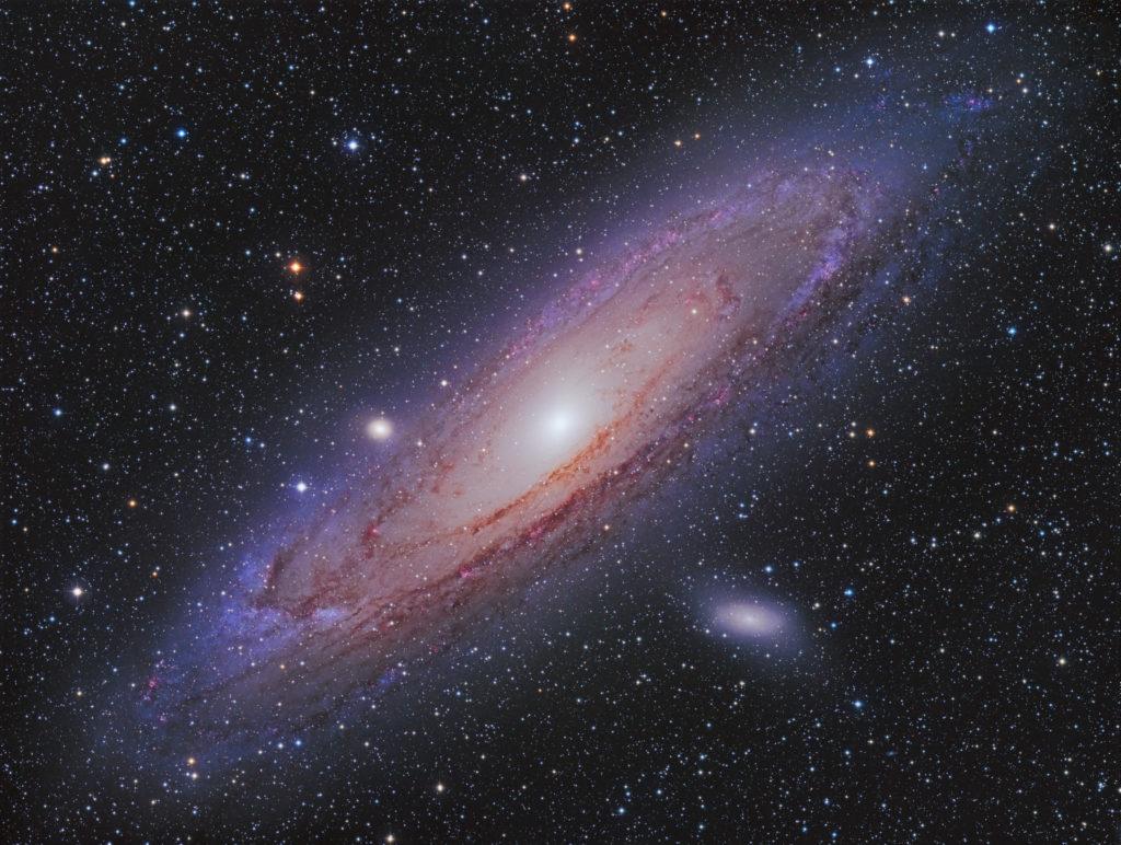 SUW 02/20 Posteraktion: M31 in nur 4,5 Stunden