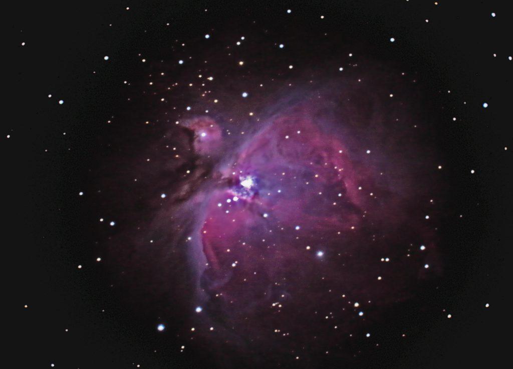 Orionnebel M42 aufgenommen mit Celestron C8 - Axel Samek