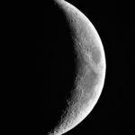 Mondsichel 5 Tage nach Neumond aufgenommen mit Celestron Nexstar 5SE - Peter Mein