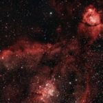 """Teil des Herznebels IC1805 aufgenommen mit Celestron RASA 8"""" - Roman Veith"""