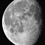Mond 3 tage nach Vollmond aufgenommen mit Celestron Nexstar 5SE - Peter Mein