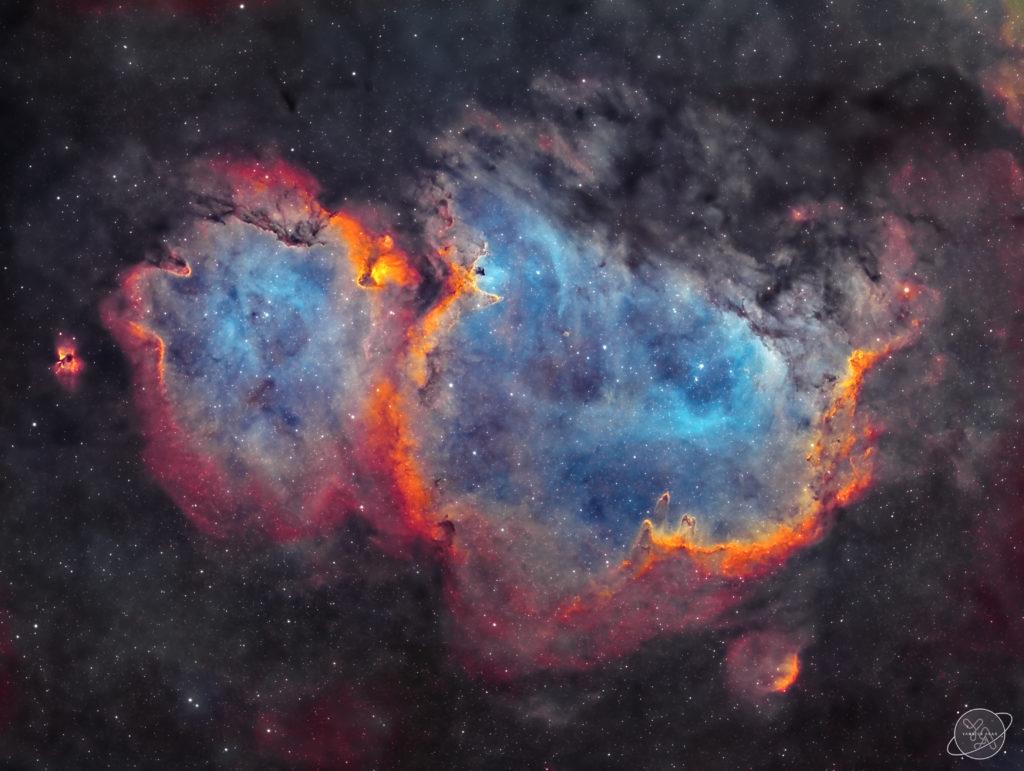 "IC 1848 - Soul Nebula aufgenommen mit Celestron RASA 8"" - Yannick Akar"