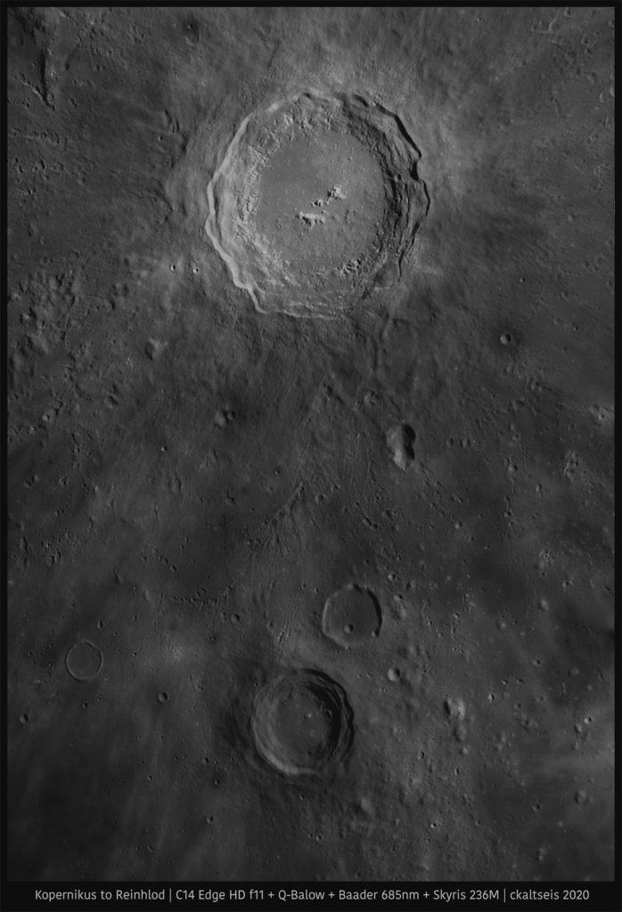 Mond aufgenommen mit Celestron C14 Edge HD f11 - Christoph Kaltseis