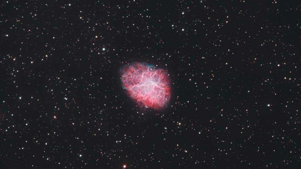 Messier 1 - Krebsnebel aufgenommen mit RASA 36 - Mike Behnke