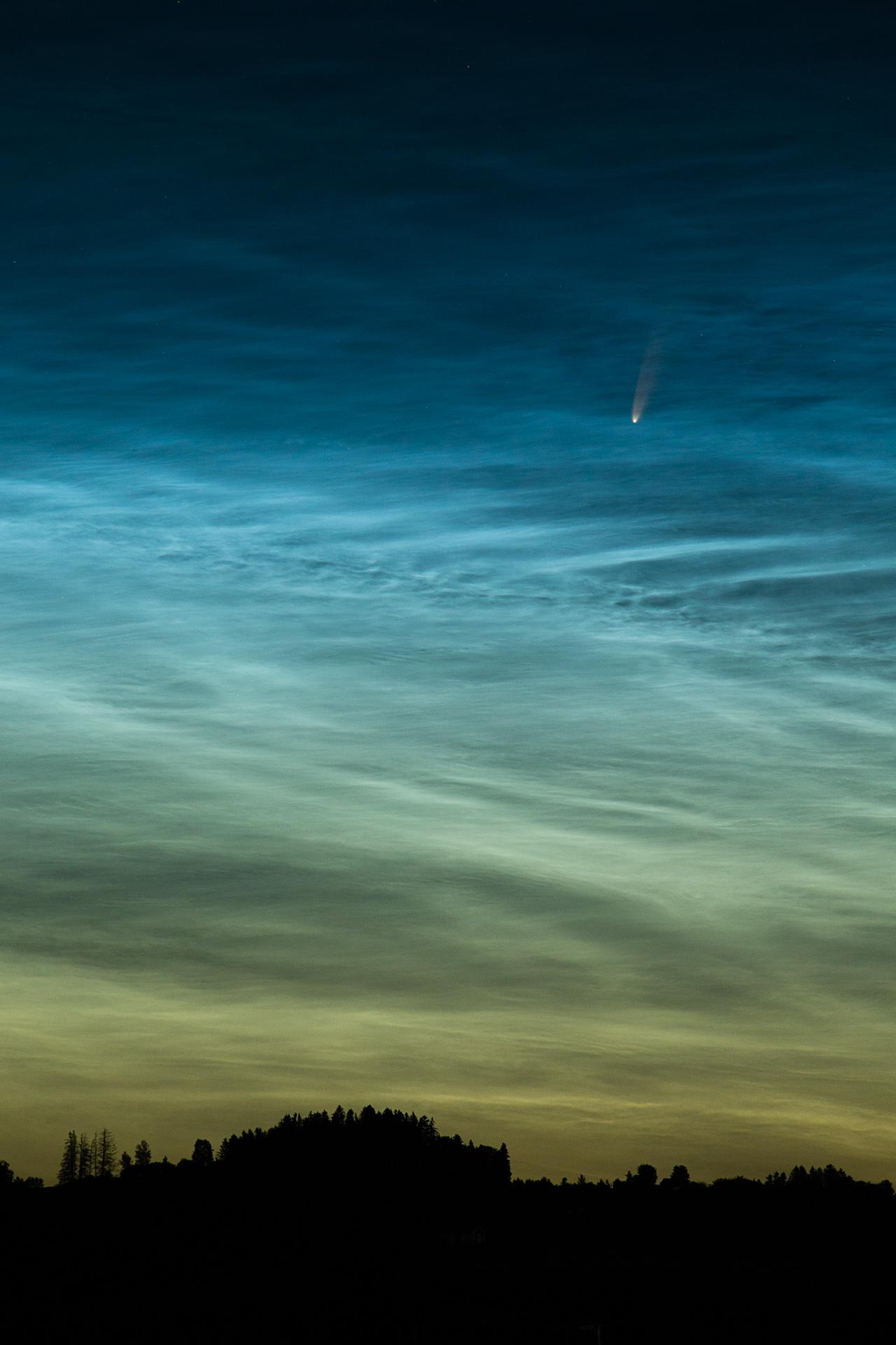 Komet NEOWISE, ©Jörg Steffan