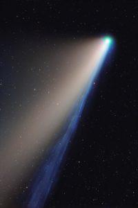 In 4,5 Minuten zum perfekten Foto von NEOWISE - mit der QHY 600 EB, dem RASA 11 und Baader RGB-Filtern