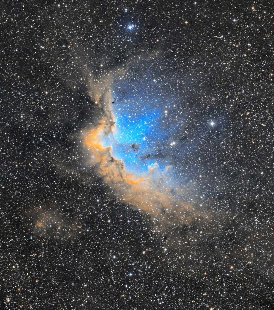 Wizard Nebula NGC 7380 aufgenommen mit Celestron C14 Edge HD + Hyperstar II - Daniel Köhn