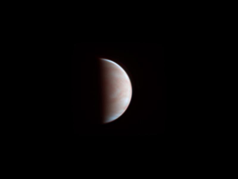 Venus aufgenommen mit Celestron C9.25 - Dr. Michael Schröder