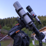 Celestron CGX-Montierung in Kombination mit StarAid Revolution als Guider