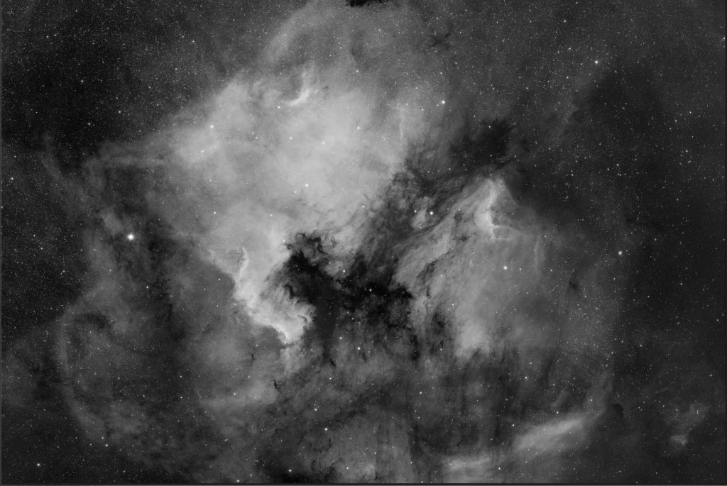 "NGC 7000 aufgenommen mit Celestron RASA 8"" - Michael Jäger"