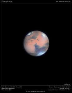 Marsopposition 2020 – Die Rückkehr des roten Planeten