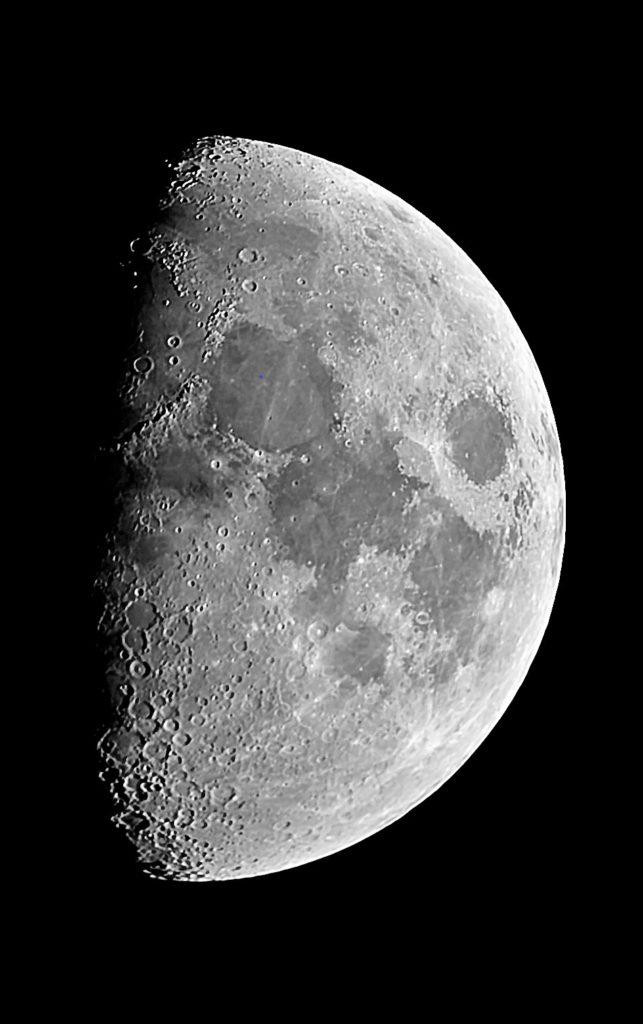Der Mond am 23.November aufgenommen mit Celestron Nexstar 5SE - Peter Mein