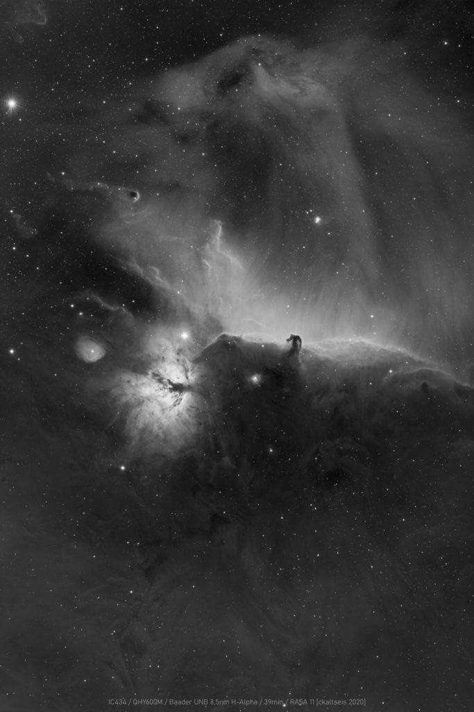 IC434, Flammen Nebel... aufgenommen mit Celestron RASA 11 f2.2 - Christoph Kaltseis