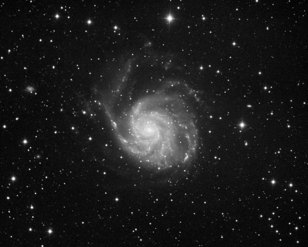 M101 aufgenommen mit RASA8 - Leszek Przybysz