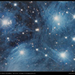 """M45 Zentrum aufgenommen mit RASA 8"""" - Michael Karrer"""
