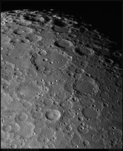 Mond Süd aufgenommen mit Celestron 14 - Michael Karrer