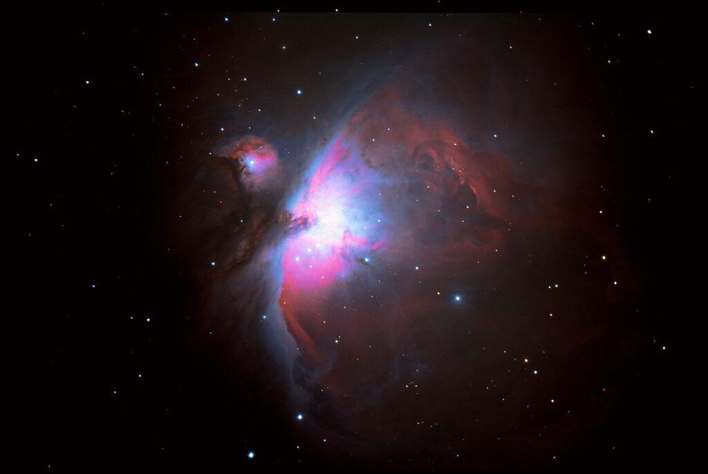 M42 Orion-Nebel aufgenommen mit Celestron C9.25 - Dieter Fleischer