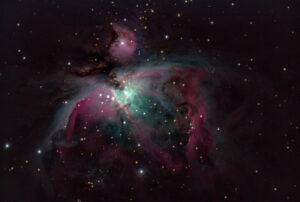 M42 aufgenommen mit 8Zoll Edge mit Reducer 0,7 - Franz Fuchs