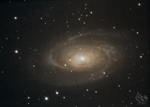 M81 - Bodes Galaxie aufgenommen mit Celestron C8 EHD - Pierre Timoteo
