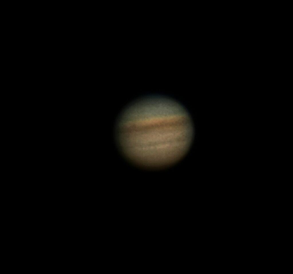 Jupiter aufgenommen mit C11 - Reinhard Denecke